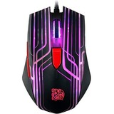 Tt eSPORTS TALON Mouse - Optical - Cable - Black - USB - 3000 dpi - Computer - Scroll Wheel - 6 Button(s) - Tt eSPORT (MO-TLN-WDOOBK-01)