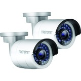 TRENDnet Outdoor 1.3 MP HD PoE IR Network Camera Twin Pack