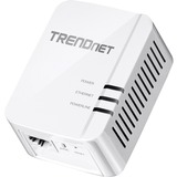TRENDnet TPL-420E Powerline Network Adapter - 1 x Network (RJ-45) - 5000 Sq. ft. Area Coverage - 984.25 ft Distance S (TPL-420E)