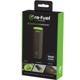 DigiPower 5-re-fuel RF-A26 Rechargeable Power Bank 2600mAh