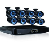 Night Owl 16 Channel Smart HD Video Security System with 2 TB HDD and 8 x 720p HD Cameras