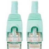 Tripp Lite 5-ft. Cat6a Aqua Patch Cable