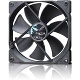 Fractal Design Dynamic GP-14 140 mm Cooling Fan Black - 1 x 140 mm - 1000 rpm - 1 x 68.4 CFM - 18.9 dB(A) Noise - Hydraulic Bearing - 3-pin