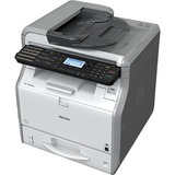 Ricoh SP 3610SF LED Multifunction Printer - Monochrome - Plain Paper Print - Desktop - Copier/Fax/Printer/Scanner - 3 (U2T11E)