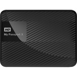 WD 2TB My Passport X for Xbox One Portable External Hard Drive - USB 3.0 - Black (WDBCRM0020BBK-NESN)