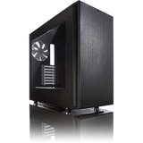 Fractal Design Define S Computer Case - Mid-tower - Black - 5 x Bay - 2 x 5.51IN x Fan(s) Installed - 0 - ATX, Micro (FD-CA-DEF-S-BK-W)