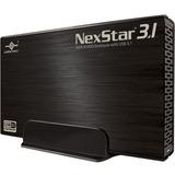 Vantec NexStar 3.1 NST-370A31-BK Drive Enclosure External - Black - 1 x Total Bay - 1 x 3.5IN Bay - Serial ATA/600 - (NST-370A31-BK)