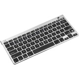 SMK-Link Blu-Link Multi-Host Bluetooth Keyboard - Wireless Connectivity - Bluetooth - 78 Key - Compatible with Computer, Smartphone, Tablet, Notebook - QWERTY Keys Layout