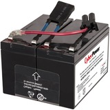 CyberPower RB1290X2B UPS Replacement Battery Cartridge for PR750LCD - 7000 mAh - 12 V DC - Sealed Lead Acid (SLA) - S (RB1270X2B)