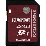 Kingston 256GB Secure Digital Extended Capacity (SDXC) Card