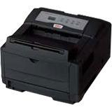 Oki B4600 LED Printer - Monochrome - 600 x 2400 dpi Print - Plain Paper Print - Desktop - 27 ppm Mono Print - A4, A5, (62446601)