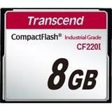 Transcend CF220I 8 GB CompactFlash - 42 MB/s Read - 40 MB/s Write