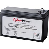 CyberPower RB1270B UPS Replacement Battery Cartridge 18-Month Warranty - 7000 mAh - 12 V DC - Sealed Lead Acid (SLA) (RB1270B)