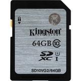 Kingston 64GB SDXC Class10 UHS-I 45MB/s Read Flash Card