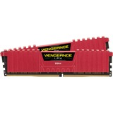 Corsair Vengeance LPX 16GB (2x8GB) DDR4 DRAM 2666MHz C16 Memory Kit - Red