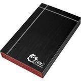 SIIG USB 3.1 to SATA 2.5 External Hard Drive Enclosure - 1 x Total Bay - 1 x 2.5IN Bay - Serial ATA/600 - USB 3.1 (JU-SA0Q12-S1)