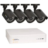 Q-see 8 Channel HD Security System with 4 HD 720p Cameras QTH8-4Z3-1 - Digital Video Recorder, Camera - H.264 Formats - 1 TB Hard Drive - 240 Fps - 720 - Composite Video In - 1 - 1 - 1 - HDMI
