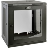 Tripp Lite 12U Wall Mount Rack Enclosure Server Cabinet w/ Glass Front Door - 19IN 12U Wide x 16.50IN Deep Wall Mount (SRW12UG)
