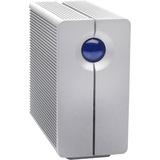 LaCie 2big Quadra USB 3.0 - 2 x HDD Supported - 8 TB Installed HDD Capacity - RAID Supported 0, 1, 1 - 2 x Total Bays (LAC9000317)