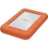 LaCie Rugged Mini LAC9000298 2 TB External Hard Drive - Portable - USB 3.0 - 5400rpm - Orange, Silver - 1 Pack (LAC9000298)