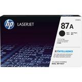 HP 87A Original Toner Cartridge - Single Pack - Laser - 9000 Pages - Black - 1 Each (CF287A)