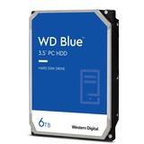 WD Blue 6 TB 3.5-inch SATA 6 Gb/s 5400 RPM PC Hard Drive - 5400rpm - 64 MB Buffer - Blue (WD60EZRZ)
