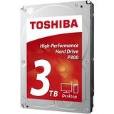 """Toshiba P300 3 TB 3.5"""" Internal Hard Drive - SATA - 7200 - 64 MB Buffer"""