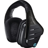Logitech Artemis Spectrum Wireless 7.1 Surround Sound Gaming Headset - Stereo - Mini-phone, RCA - Wired/Wireless - 65 (981-000585)