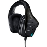 Logitech Artemis Spectrum RGB 7.1 Surround Gaming Headset - Black - Mini-phone, USB - Wired - 39 Ohm - 20 Hz - 20 kHz (981-000586)