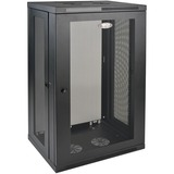 Tripp Lite 21U Wall Mount Rack Enclosure Server Cabinet w/ Door and Side Panels - 19IN 21U Wide x 16.50IN Deep Wall M (SRW21U)