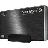 Vantec NexStar 6G NST-366SU3-BK Drive Enclosure External - 1 x Total Bay - 1 x 3.5IN Bay - UASP Support - Serial ATA/ (NST-366SU3-BK)