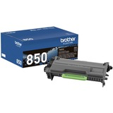 Brother Genuine TN850 High Yield Mono Laser Black Toner Cartridge - Laser - High Yield - 8000 Pages - Black - 1 Each (TN850)