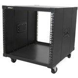 StarTech.com Portable Server Rack with Handles - Rolling Cabinet - 9U - 17.70IN 9U Wide x 23IN Deep for Server - Blac (RK960CP)