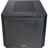 Fractal Design Core 500 Computer Case - Desktop - Black - 7 x Bay - 1 x 5.51IN x Fan(s) Installed - 0 - 9.70 lb - 3 x (FD-CA-CORE-500-BK)