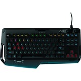Logitech G410 Atlas Spectrum RGB Tenkeyless Mechanical Gaming Keyboard - Cable Connectivity - USB 2.0 Interface - Bac (920-007731)