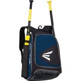 Easton E200P Carrying Case (Backpack) for Baseball - Navy - Blow Resistant - Neoprene, 420D Ripstop, 600D Polyester - Honeycomb - Shoulder Strap