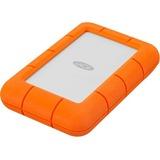LaCie Rugged Mini LAC9000633 4 TB External Hard Drive - Portable - USB 3.0 - 5400rpm - Orange (LAC9000633)