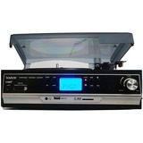 boytone Home Turntable System BT-16DJB-C - Belt Drive - 33.3, 45, 78 rpm - SD, Analog Magnetic - Black, Silver