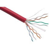 Axiom CAT6 Plenum Bulk Cable Spool 1000FT (Red)