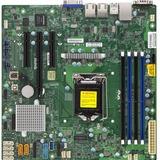Supermicro X11SSL-F Server Motherboard - Intel Chipset - Socket H4 LGA-1151 - Retail Pack - Micro ATX - 1 x Processor (MBD-X11SSL-F-O)