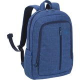 "Riva 7560 Laptop Canvas Backpack 15.6"" Blue"