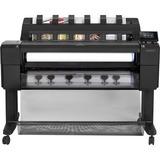 HP Designjet T1530 PostScript Inkjet Large Format Printer - 36in Print Width - Color - Printer - 6 Color(s) - 21 Seco (L2Y24A#B1K)