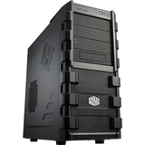 Cooler Master HAF 912 Computer Case - Mid-tower - Black - Steel, Plastic, Mesh - 12 x Bay - 2 x 4.72IN x Fan(s) Insta (RC-912-KKN1-GP)