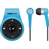 NoiseHush NS560 Clip-on Bluetooth Stereo Headset - Blue - Stereo - Blue - Mini-phone - Wired/Wireless - Bluetooth - 32.8 ft - Earbud - Binaural - In-ear