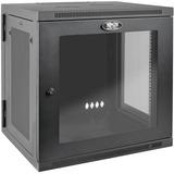 Tripp Lite 12U Wall Mount Rack Enclosure Server Cabinet Hinged Deep Acrylic Window - 19IN 12U Wide x 24.50IN Deep Wal (SRW12USDPG)