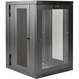 Tripp Lite 18U Wall Mount Rack Enclosure Server Cabinet Deep Acrylic Window - 19IN 18U Wide x 24.50IN Deep Wall Mount (SRW18USDPG)