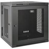 Tripp Lite 12U Wall Mount Rack Enclosure Server Cabinet Swinging Hinged Door Deep - 19IN 12U Wide x 24.50IN Deep Wall (SRW12USDP)