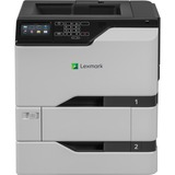 Lexmark CS720dte Laser Printer - Color - 2400 x 600 dpi Print - Plain Paper Print - Desktop - 40 ppm Mono / 40 ppm Co (40C9101)
