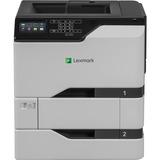 Lexmark CS725dte Laser Printer - Color - 2400 x 600 dpi Print - Plain Paper Print - Desktop - 50 ppm Mono / 50 ppm Co (40C9001)