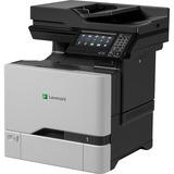 Lexmark CX725de Laser Multifunction Printer - Color - Plain Paper Print - Desktop - Copier/Fax/Printer/Scanner - 50 p (40C9500)